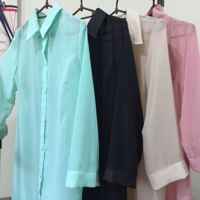 Chiffon Cover Up / Polo