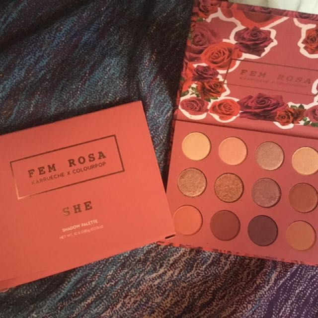 COLOURPOP FEM ROSA SHE PALETTE