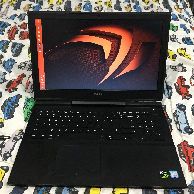 DELL Pandora Gaming 15-7567-7700HQ-8GB Black