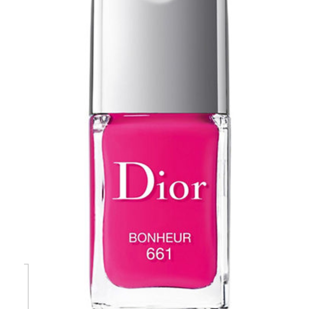 Dior Vernis Gel Shine Nail Lacquer - Bonheur Pink