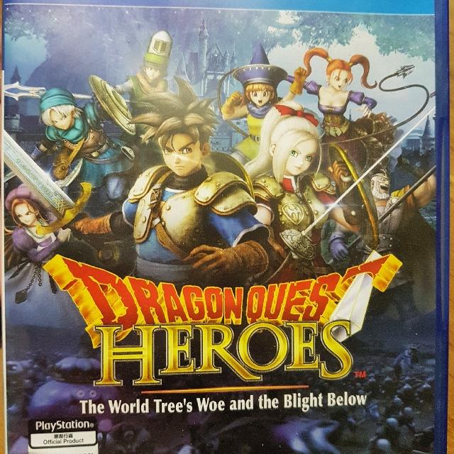 Ps4 Dragon Quest Heroes