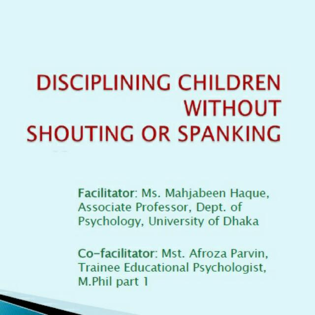 Ebook - Discipline Your Children Without Shouting And Spanking