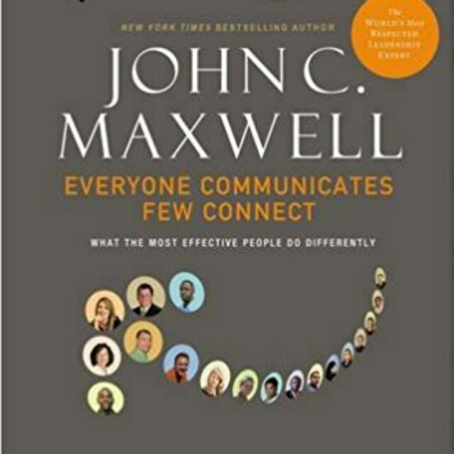 Ebook - Everyone Communicates Few Connects By John Maxwell