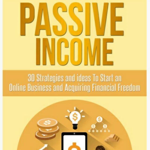 Ebook - Passive Income 30 Strategy
