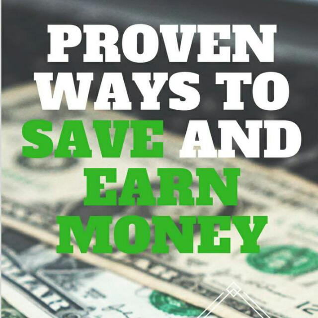 Ebook - Proven Ways To Earn And Save Money