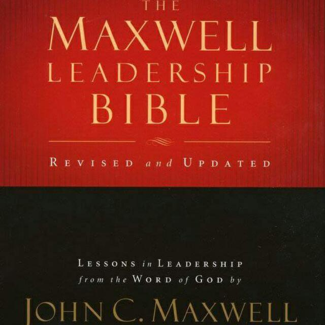 Ebook - The Maxwell Leadership Bible By John Maxwell