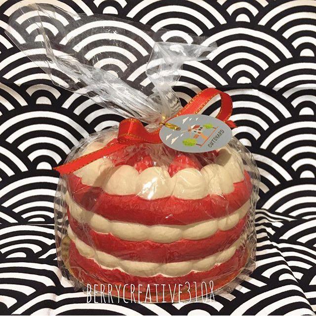 Eric Jumbo Marshmallow Cake Squishy