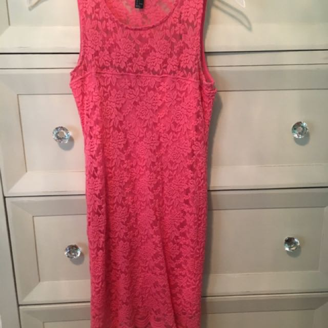 Forever 21 Pink Dress Size S