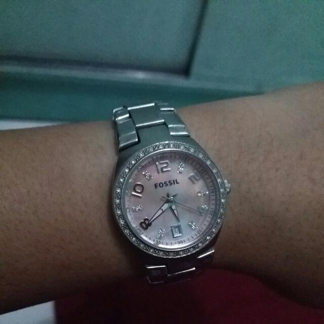 Fossil AM4175 Silver (Pink)