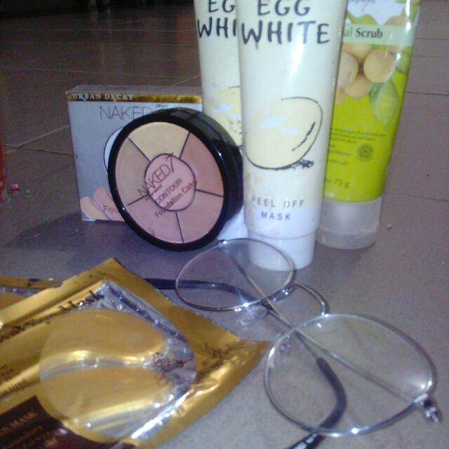 Foundation+pencuci Wajah+masker Wajah+masker Mata+kacamata