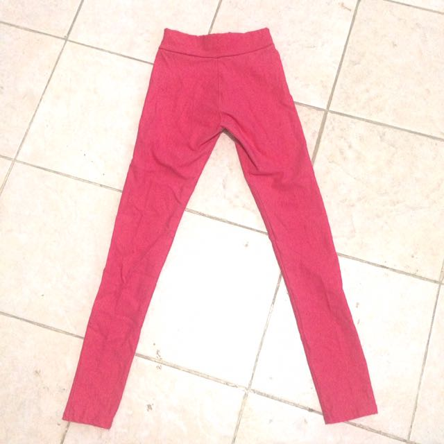 Fuschia Jeggings