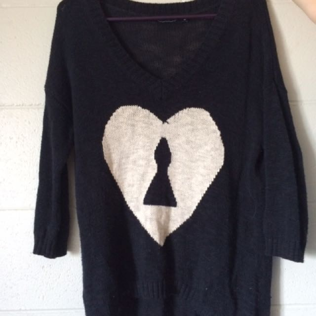 Glassons Heart Jumper