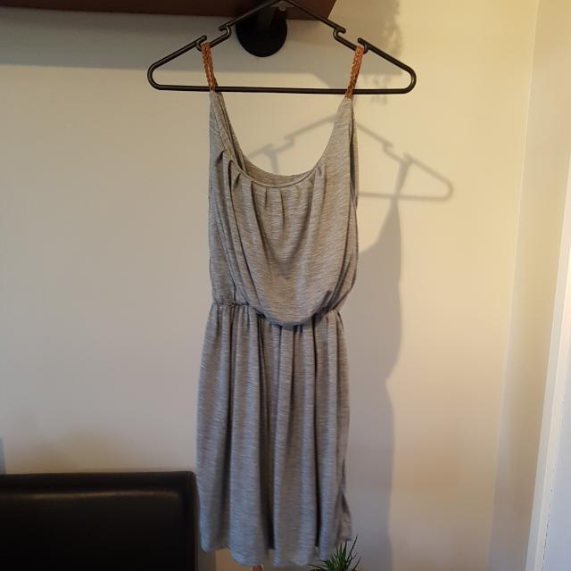 Grey Boho Dress Size Small