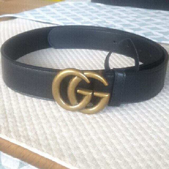 'Gucci' Belt  Real Leather