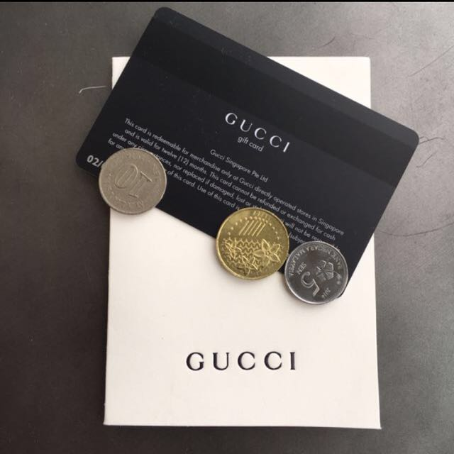 38df54bfa9 Gucci Gift Vouchers, Entertainment, Gift Cards & Vouchers on Carousell