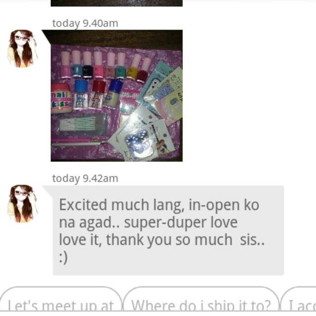 Happy Customer! :)