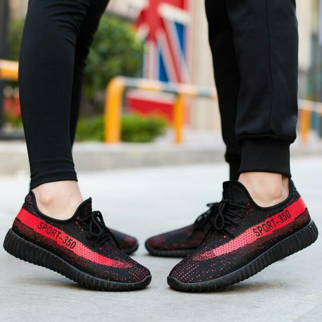 Hipster Couple Shoes Fly Knit Yeezy