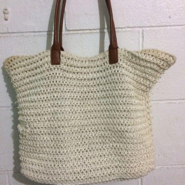 H&M beach bag
