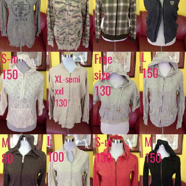 Hooded /zipped Jackets And Sweaters