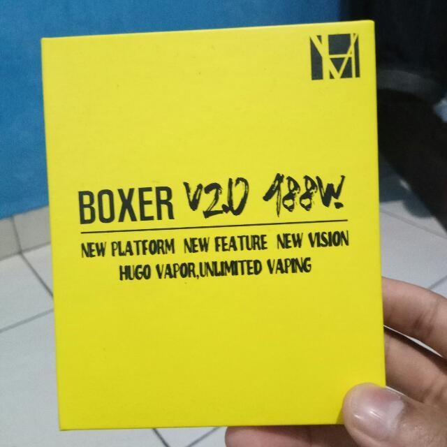 HUGO BOXER V20 188W AUTHENTIC | MOD VAPE VAPOR VAPORIZER