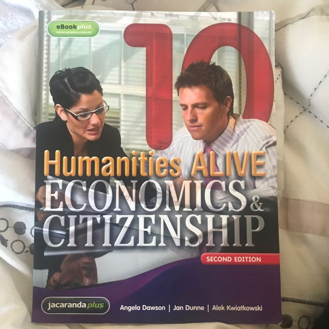 Humanities Alive Economics & Citizenship