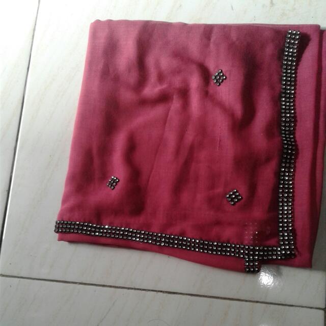 Jilbab Sgu 4 Payet Fushia