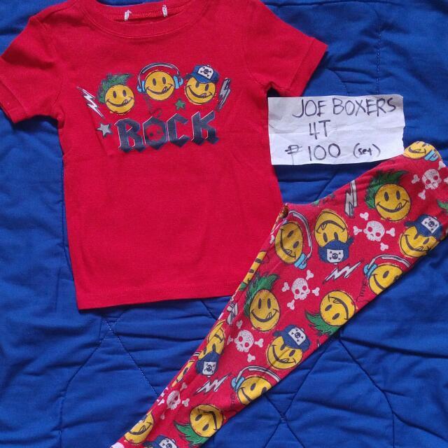 Joe boxers Pajama Set