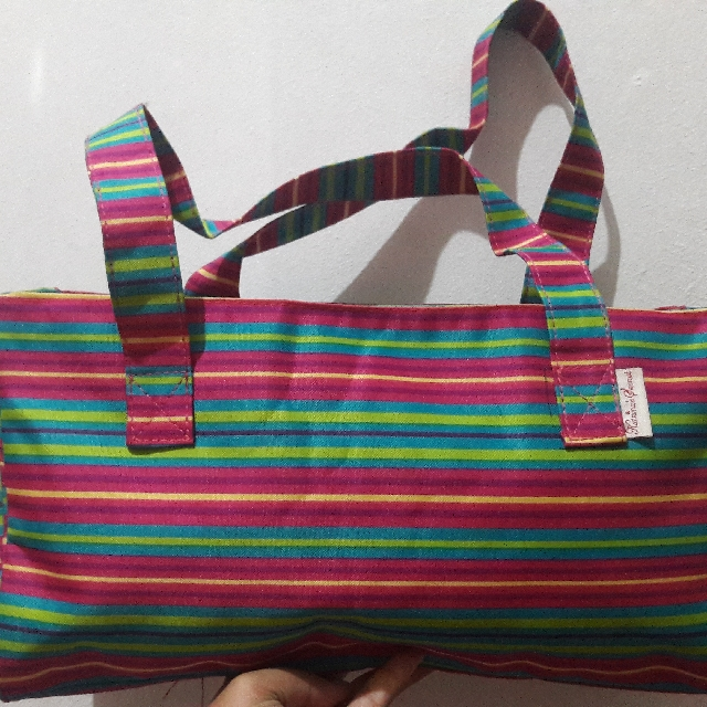 Katrina's Secret Stripes Shoulder Bag