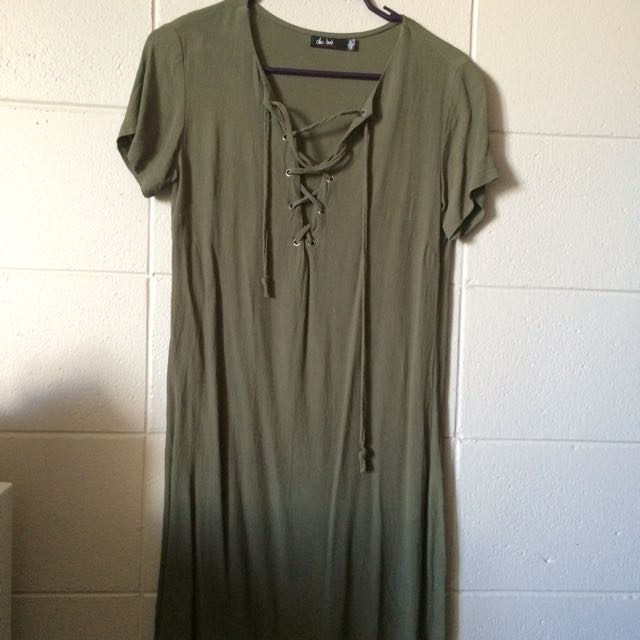 Khaki Dress Valley Girl