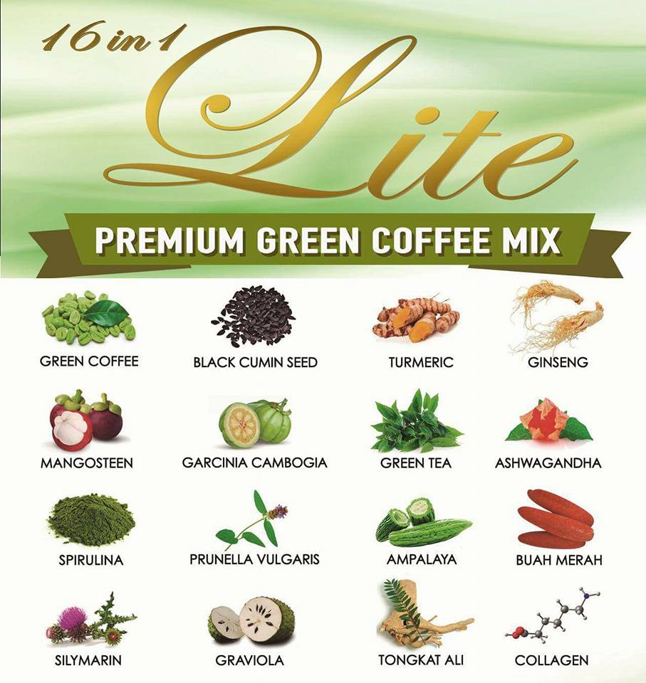 Lite Green Coffee Mix