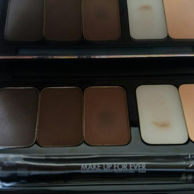 Makeup Forever Sculpting Brown palette