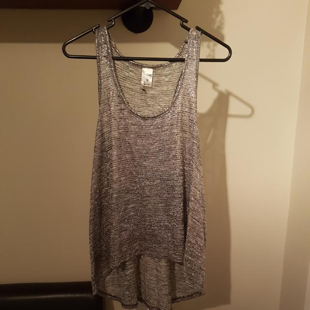 Metallic Singlet Top