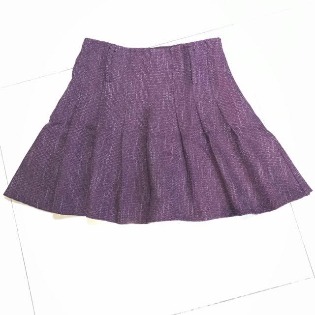 Mini Skirt Ruffle