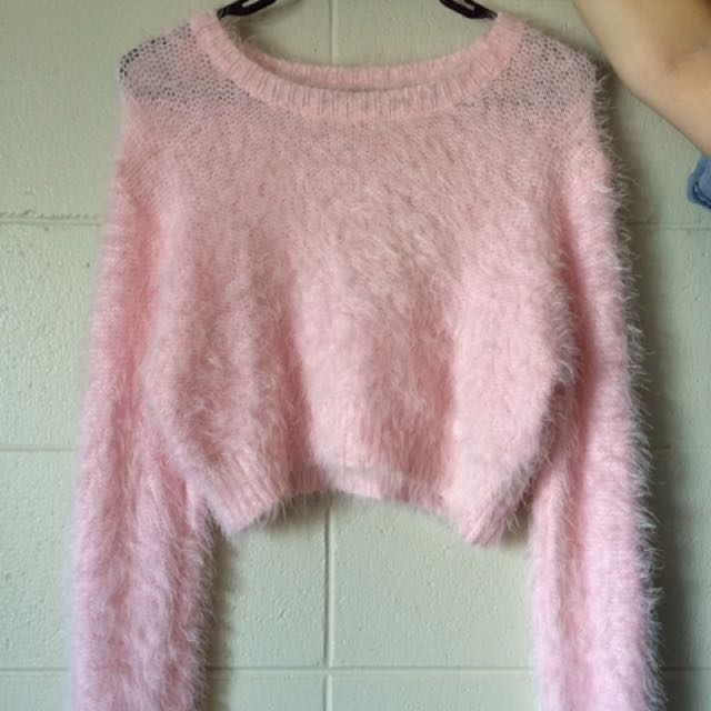 Missguided Pink Sweater
