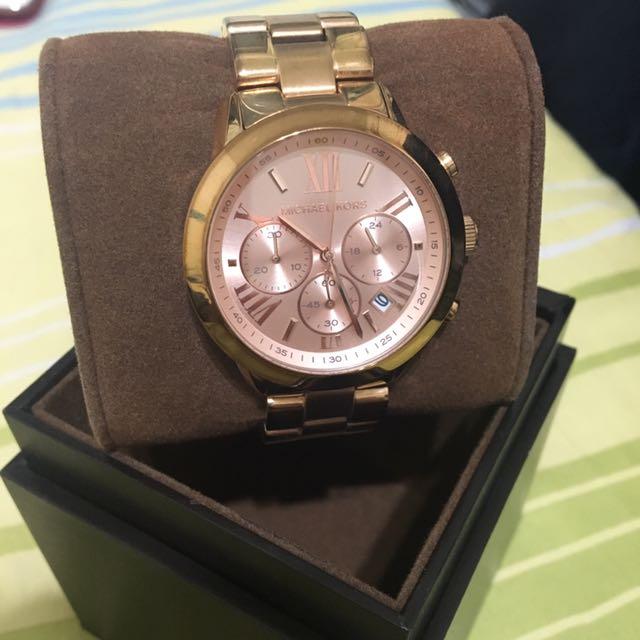 MK 5778 玫瑰金女錶
