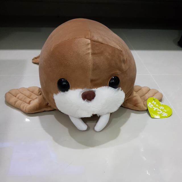Mochi Puni Amuse Seal Plush