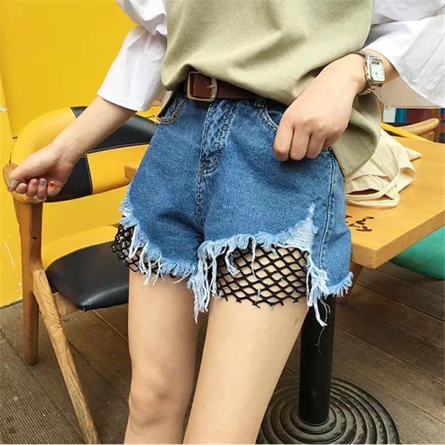 [NEW] Nets Denim HW Shorts