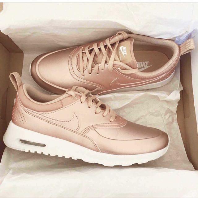 Nike Thea Air Max Rose Femmes Or sortie rabais sneakernews de sortie officiel de sortie odx0VHa9
