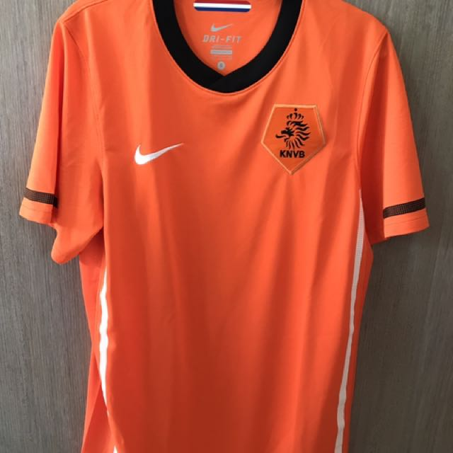 22c668975c5 Nike Dutch (Netherlands) National Team Jersey Soccer Football ...