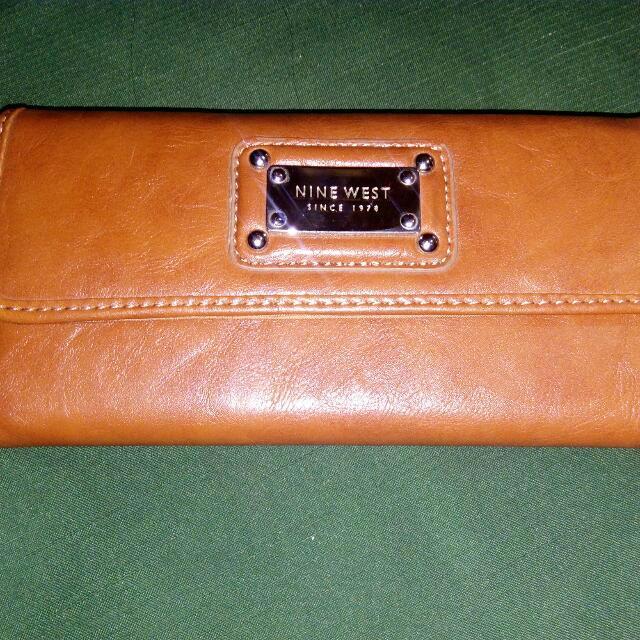 Original Nine West Check Wallet