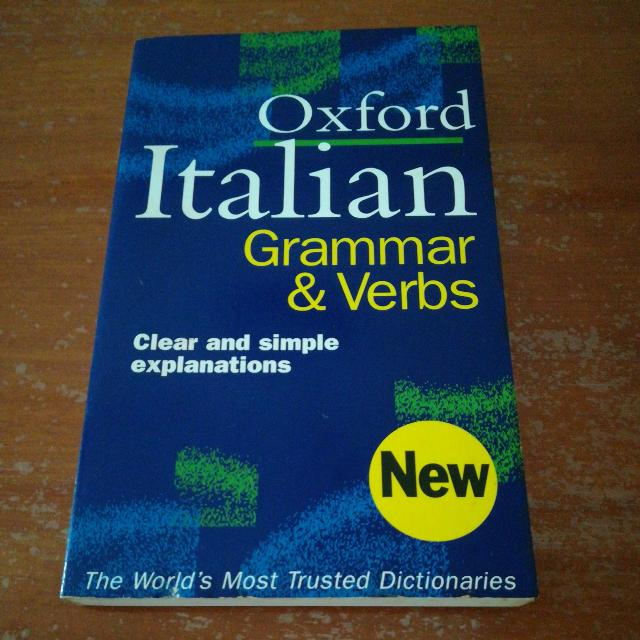 Oxford Italian Grammar & Verbs