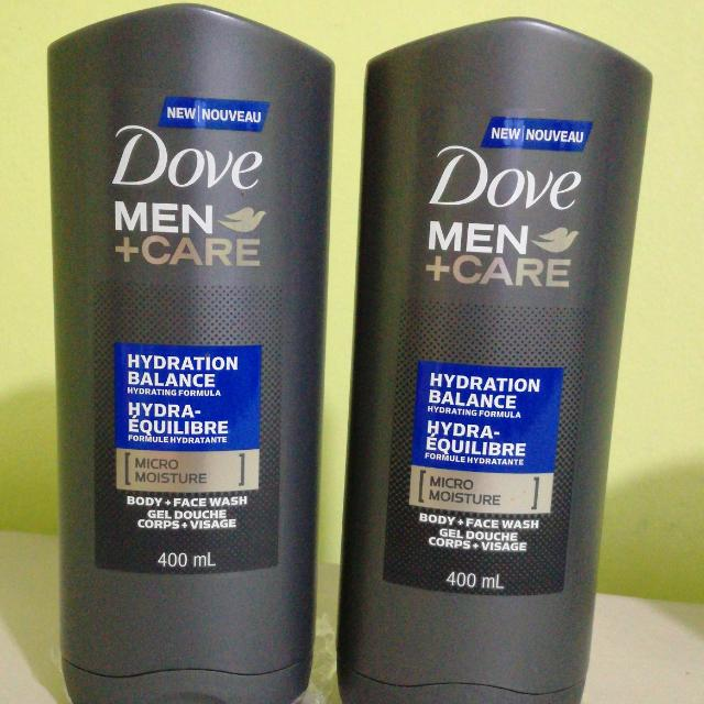 Pack Of 3 Dove BODY/FACE Wash Micro Moisture