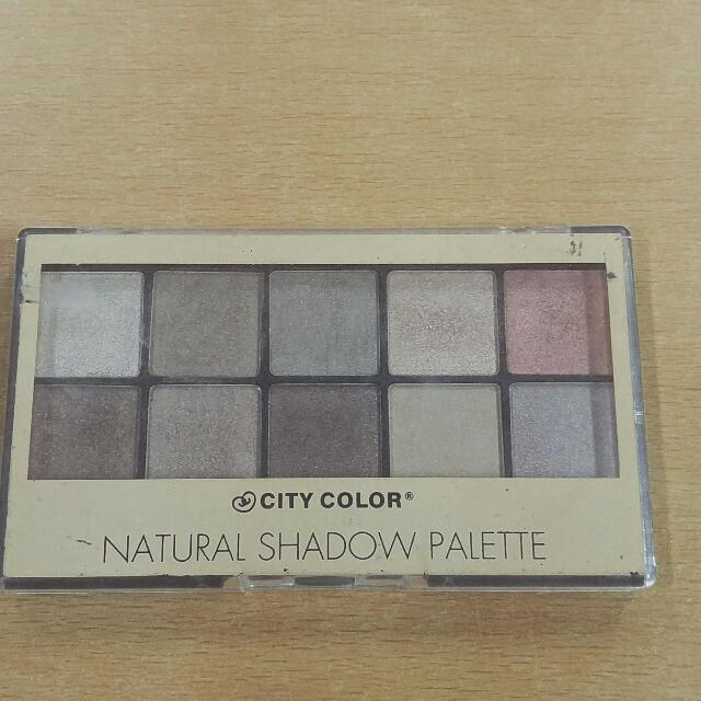 Preloved City Color Natural Shadow Pallete