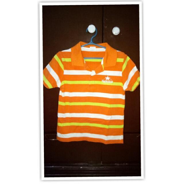 Preloved Orange Stripe