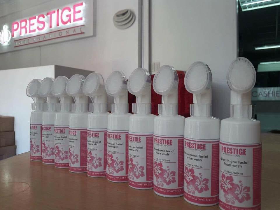 Prestige Glutathione Facial Foam Wash
