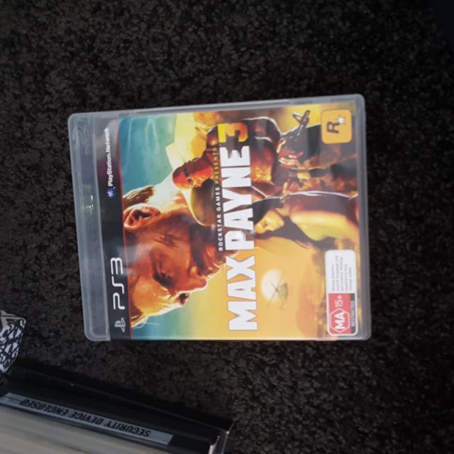Ps3 Game Max PAYNE 3