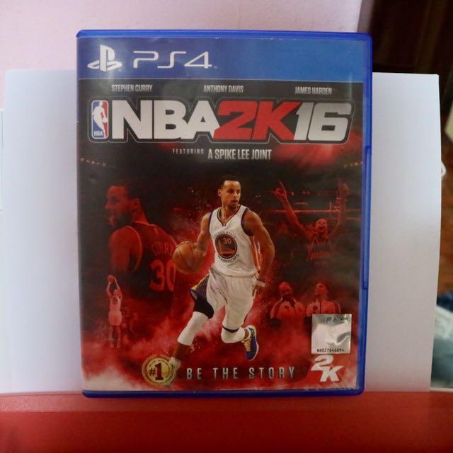 PS4 Game - NBA 2K16