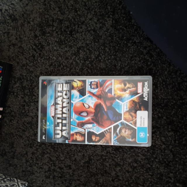 Psp2 Game Ultimate Alliance