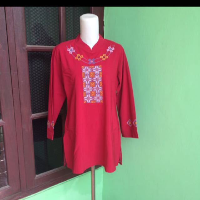 REPRICE blouse red