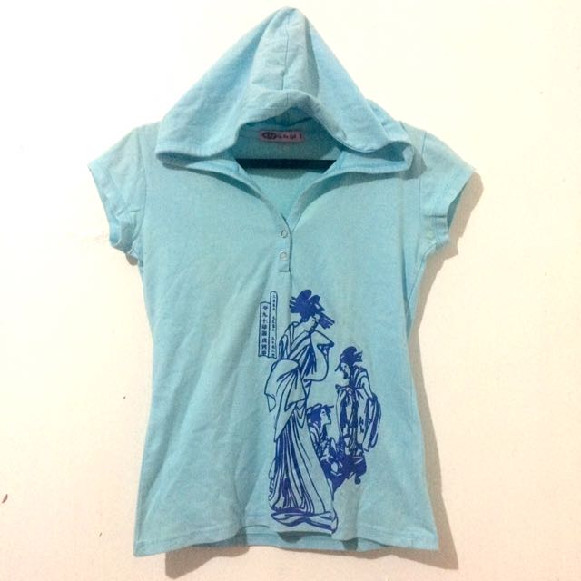 RRJ Printed Tshirt With Hood